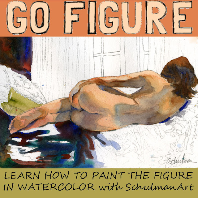 online figure painting course in watercolor :: http://schulmanart.blogspot.com/2015/06/go-figure-nude-watercolor-figure.html