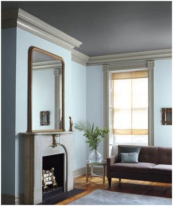 dark painted ceilings essence design studios llc