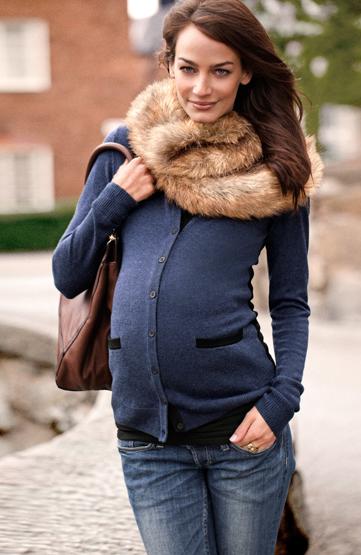 H&M premama otoño invierno