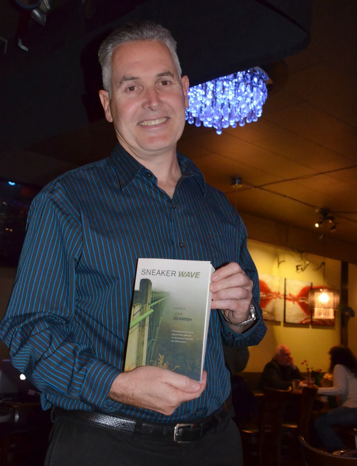 Jeff Beamish at his Vancouver book launch Nov. 5, 2013