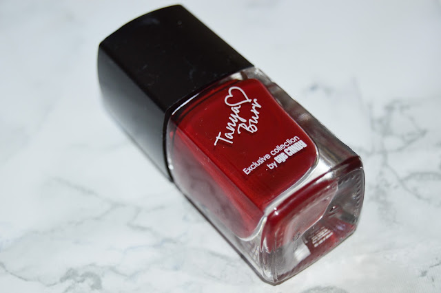 Tanya Burr Nail Polish in Riding Hood Review