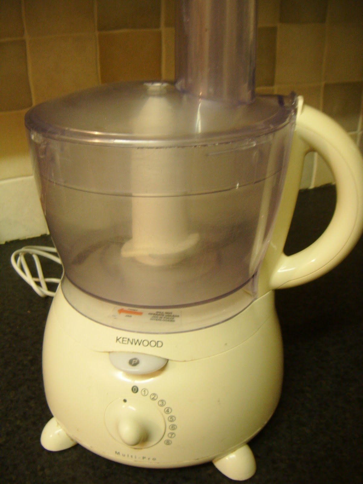 Kenwood Food Processor With Fine Grater