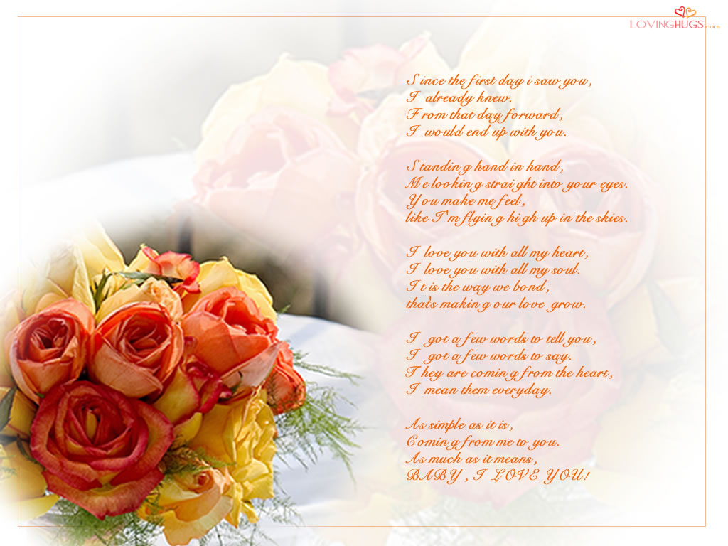 I Love You Poem Wallpaper Wallpapers Poetry Of Poems Quotes