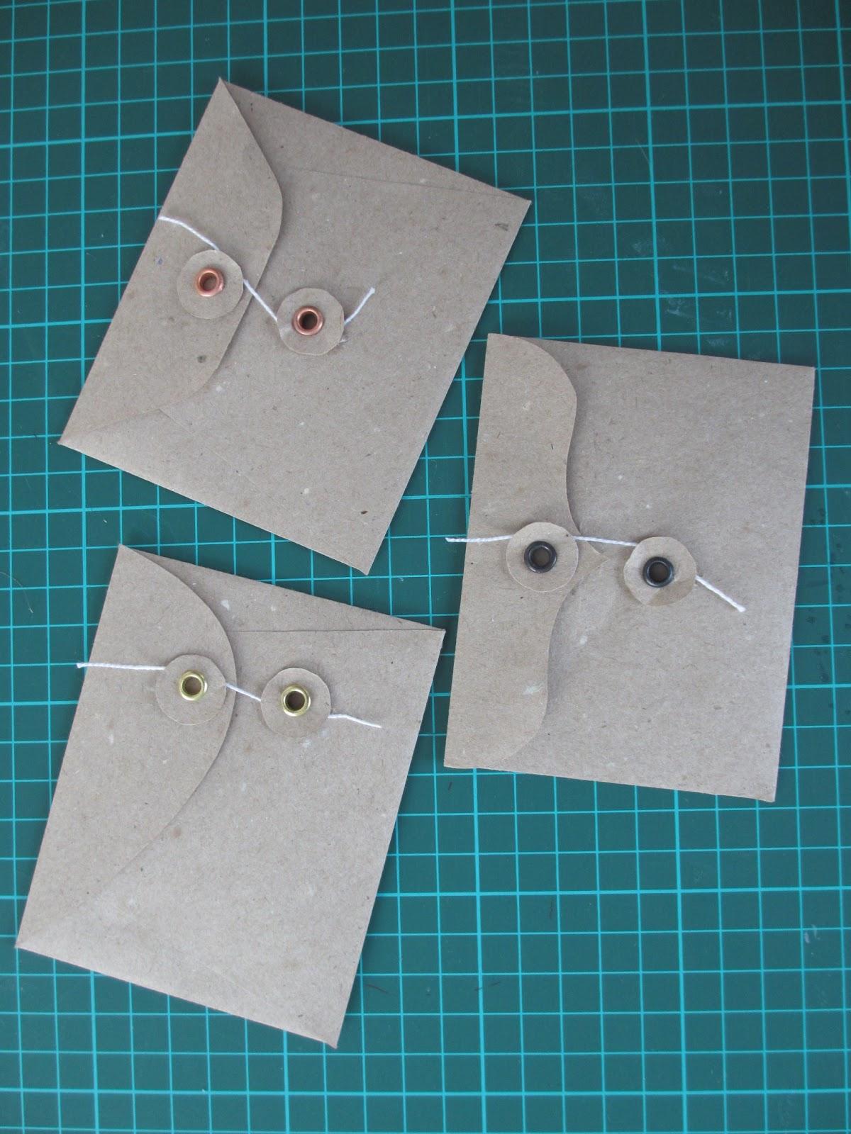 Крафтовые конверты своими руками фото 760