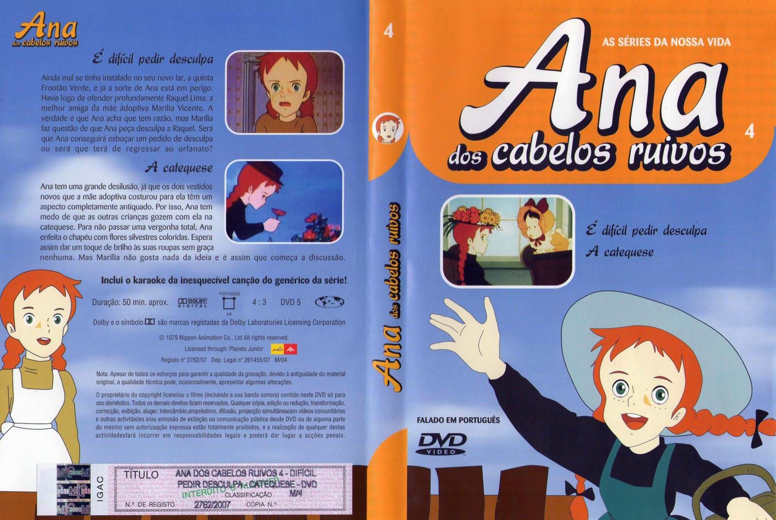 Ana dos Cabelos Ruivos Vol.1 A 25  PT-PT Ana+dos+Cabelos+Ruivos+Vol.4