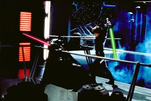 Luke killing Darth Vader
