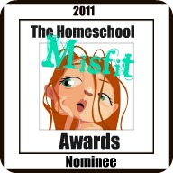 "Homeschool Circus has been nominated for ""The Harried Homeschool Award"""