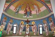 Συνεχίζεται η Αγιογράφηση του νεόδμητου Ναού του Αγίου Αντωνίου στα Κρύα Ιτεών (φωτογραφίες)