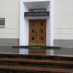 Vilnius University in Old Town Vilnius.