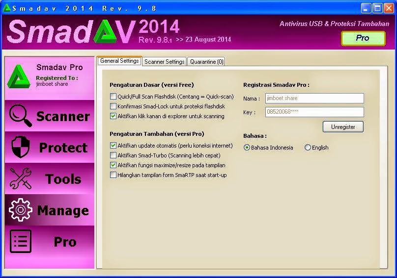 Smadav Pro Rev 9.8.3