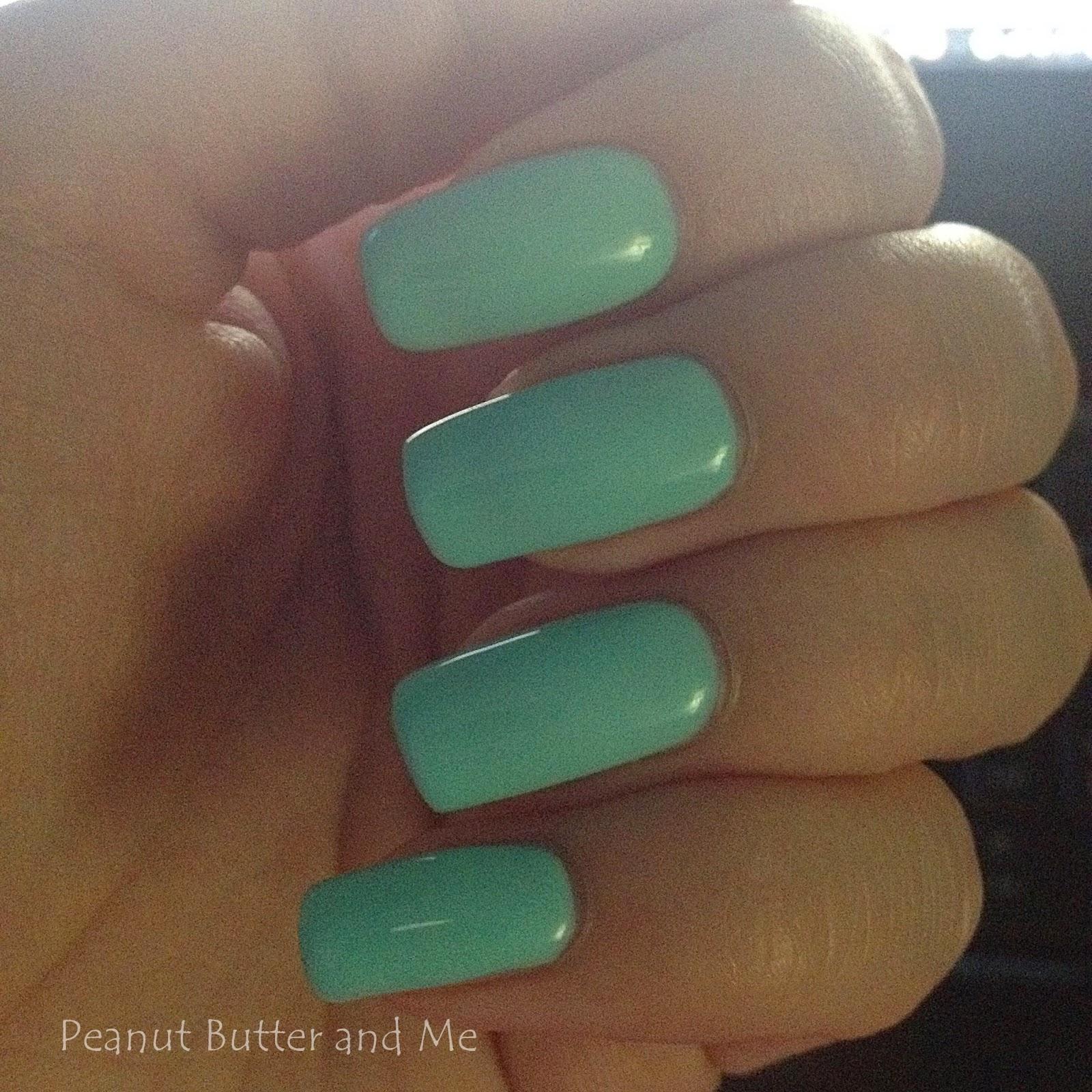 Semilac lakier hybrydowy lakiery paznokcie żelowe top baza mint zestaw