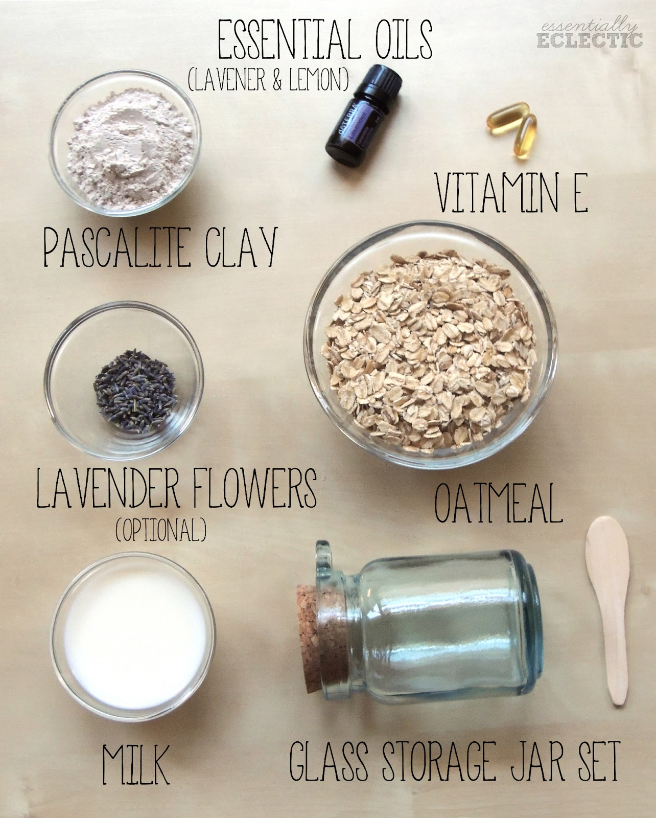 Lavender And Lemon Oatmeal Mud Mask Recipe Mom Makes Joy