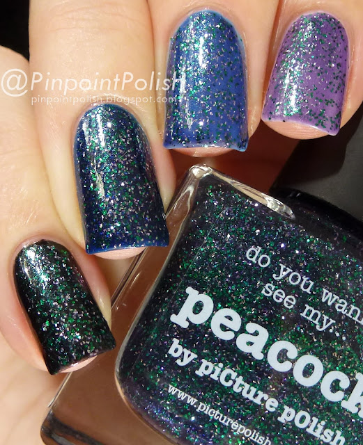 Picture Polish Peacock, swatch