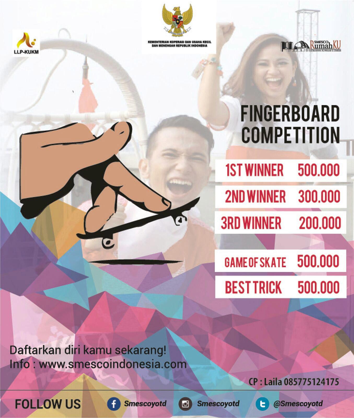 October 2015 Smesco Promo Produk Ukm Bumn Kain Batik Handmade Warna Alam Finger Board Competition