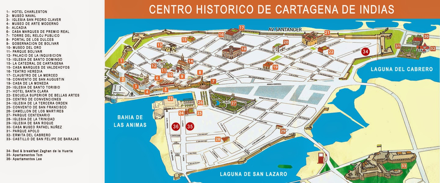tourist map of cartagena colombia cartagena de indias colombia  - cartagena tourist map cartagena columbia mappery tripoliccorg