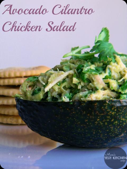 Avocado Cilantro Chicken Salad - Mom's Test Kitchen