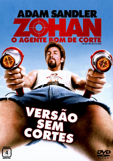 Filme Zohan O Agente Bom de Corte Dublado AVI DVDRip