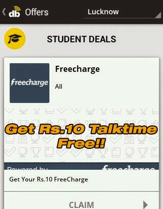 Download Dabblr app and get free 10 Rs Recharge instantly