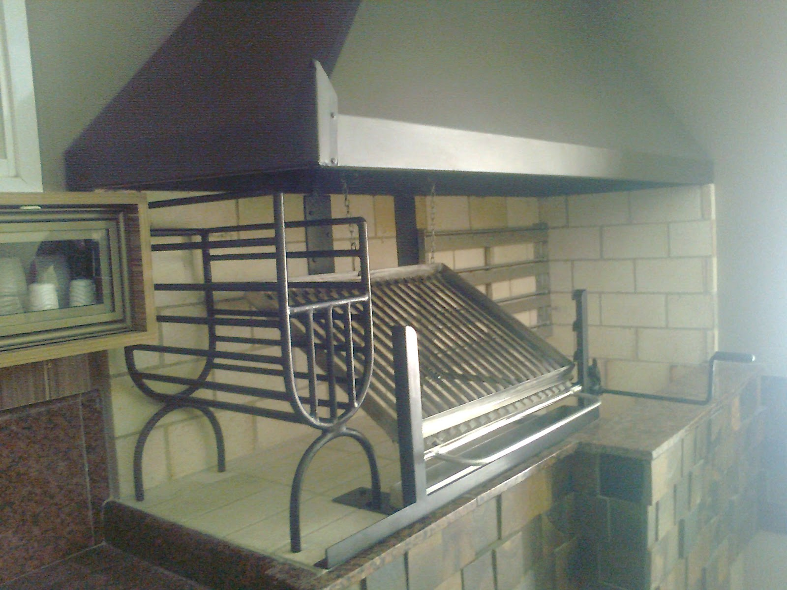 1000 images about parrillas on pinterest brick grill - Parrilla para casa ...