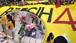 Pijak gambar Najib: Pemuda Pekan beri amaran keras
