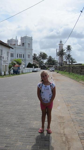 Macarena en la ciudad de Galle (Sri Lanka)