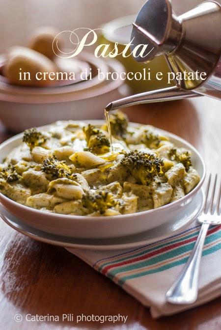 Pasta in crema di broccoli e patate
