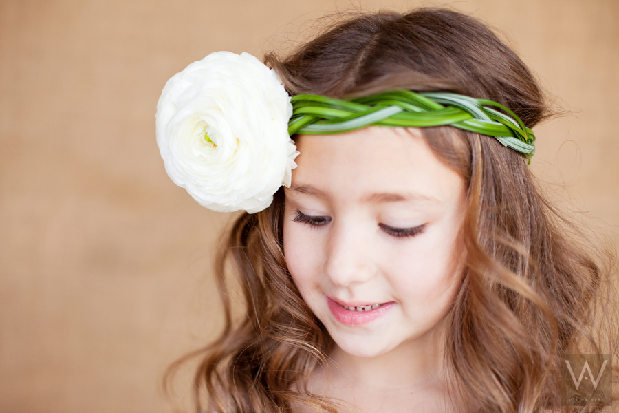 Amber Weimer Photography Blog Flower Hairpieces
