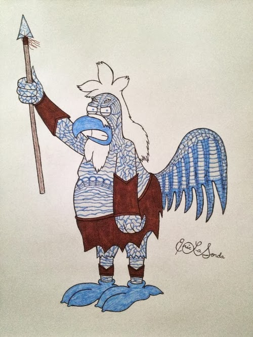 09-The-Chicken-and-the-White-Walker-timburtongameofthrone-Family-Guy-Game-of-Thrones-Mashup-www-designstack-co