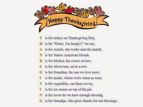 Famous Thanksgiving Greeting Card Poems - Free Quotes, Poems, Pictures ...