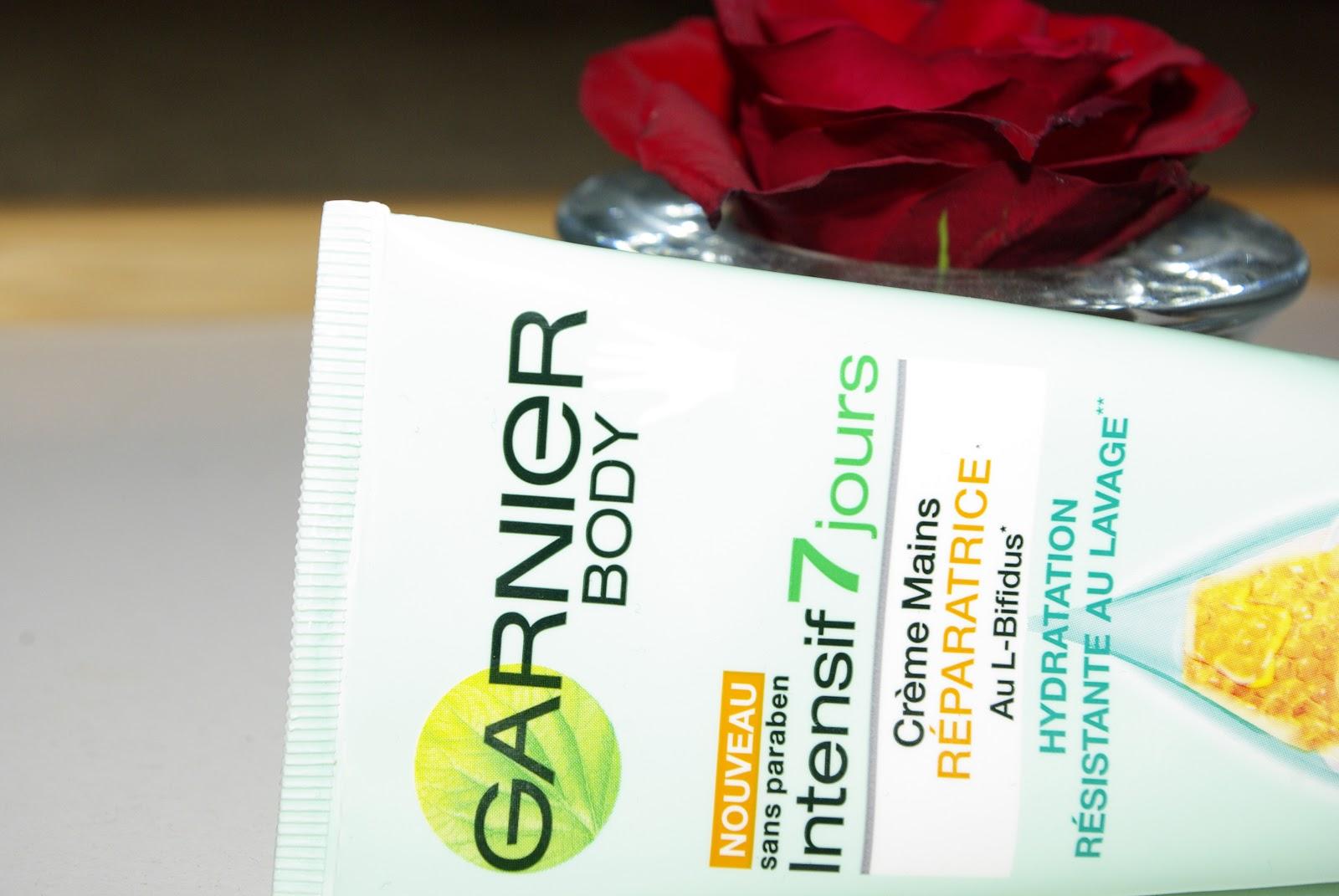 Garnier - Odżyweczy krem do rąk, intensywne 7 dni.