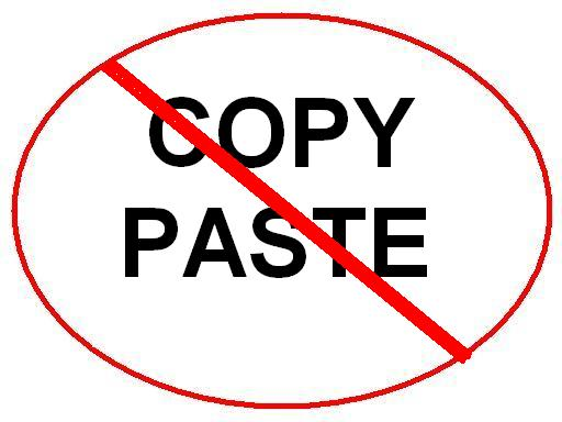 learn how to copy and paste