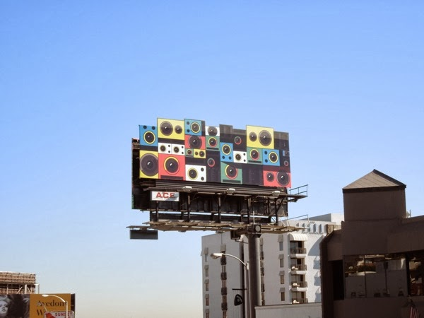 Google Play music speakers billboard