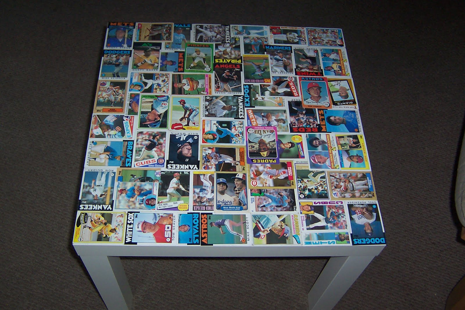 Baseball Card Table Ikea Hackers Ikea Hackers
