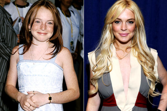 Disney kid celebrities then and now