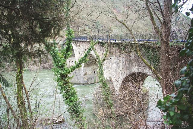 Candamo, de Peñaflor a Grullos, puente de Peñaflor