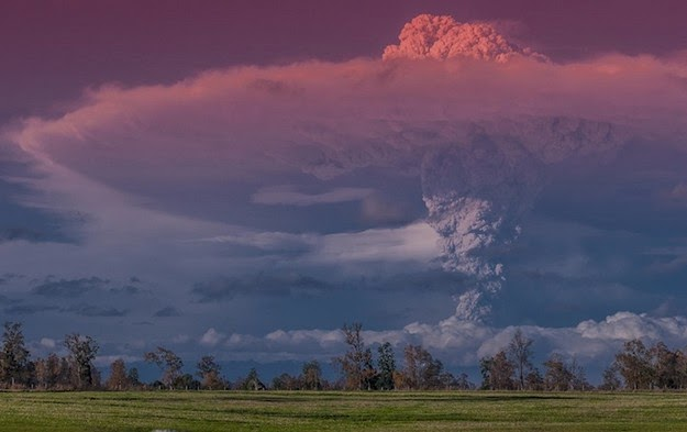 volcanic eruption in Chile8