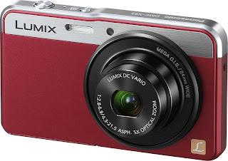 Panasonic DMC-XS3 in red, new panasonic camera, full HD video