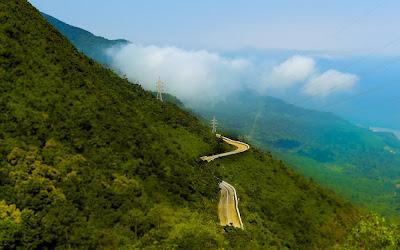 Passagem de montanha Hai Van – Vietnã