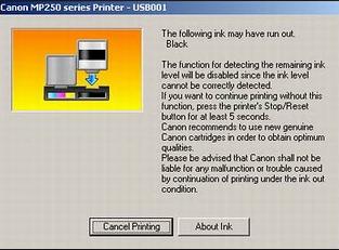 Cara mengatasi kode eror E13 di printer canon