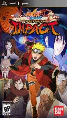 Download Game PSP Naruto Shippuden - Ultimate Ninja Impact Full ISO