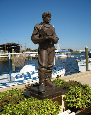 Statue of Sponge Diver, Tarpon Springs