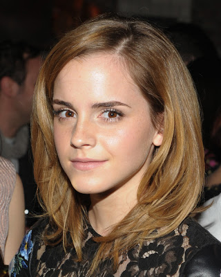 Emma Watson Shoulder Length Hairstyles Medium
