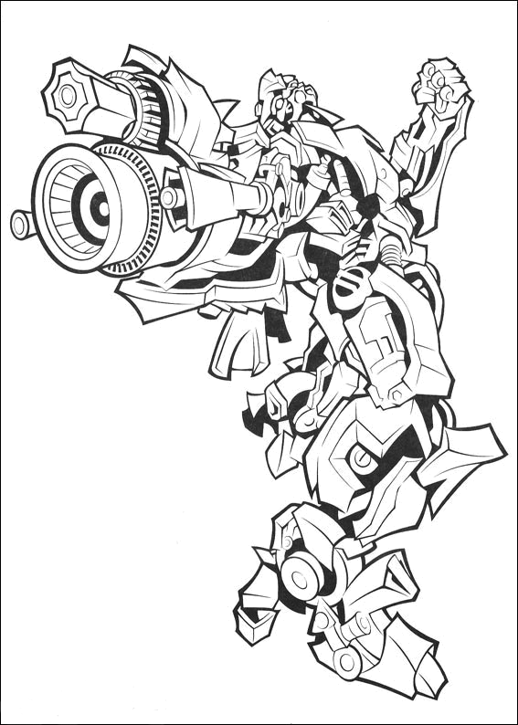 transformer 3 coloring pages - photo#3