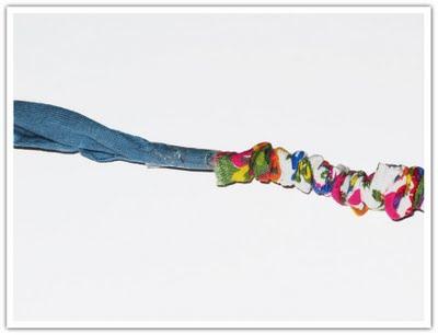 Stoppning av tygband