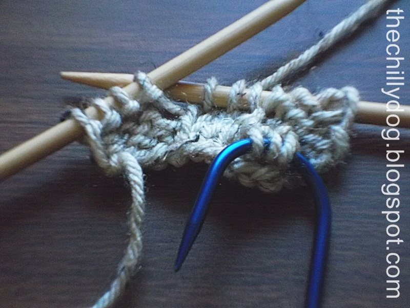 Cable Hook Knitting : Basic knit cable the chilly dog
