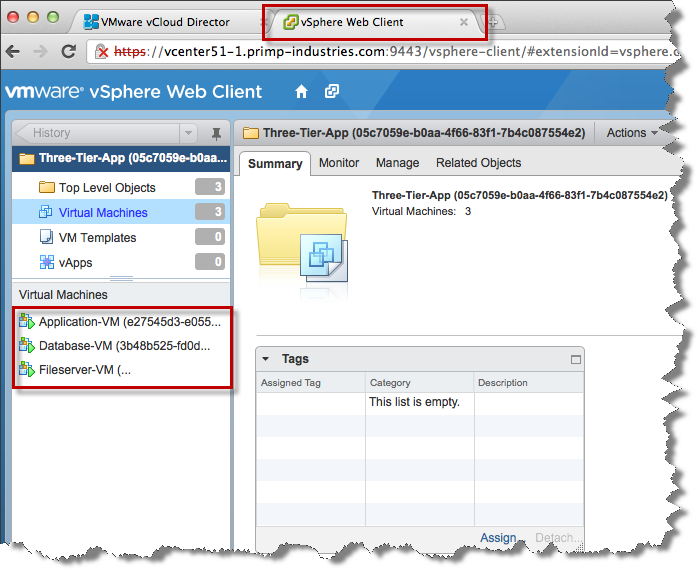 how to set up vspehre web client 5.1