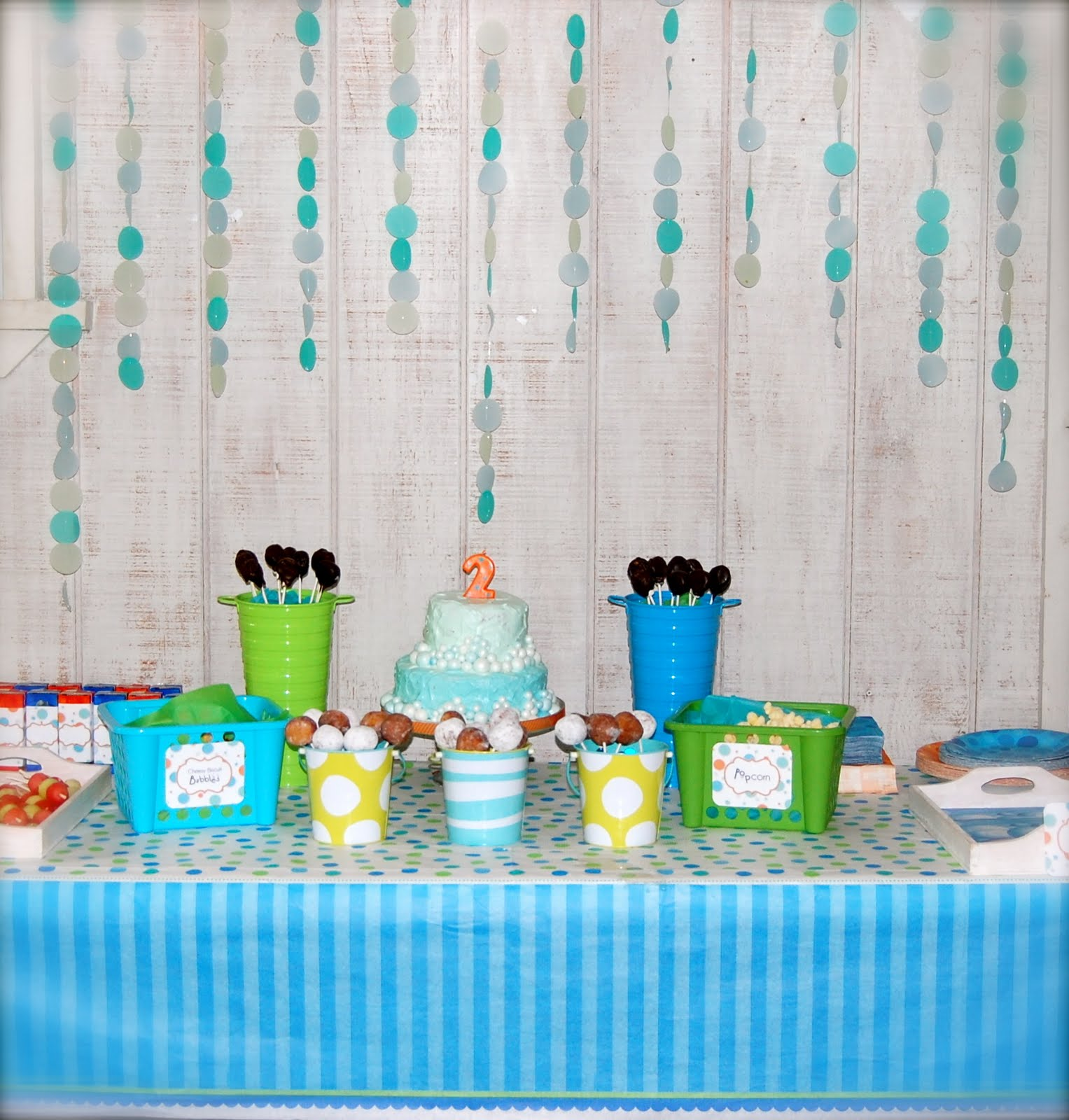 Beth Kruse Custom Creations: bubble party
