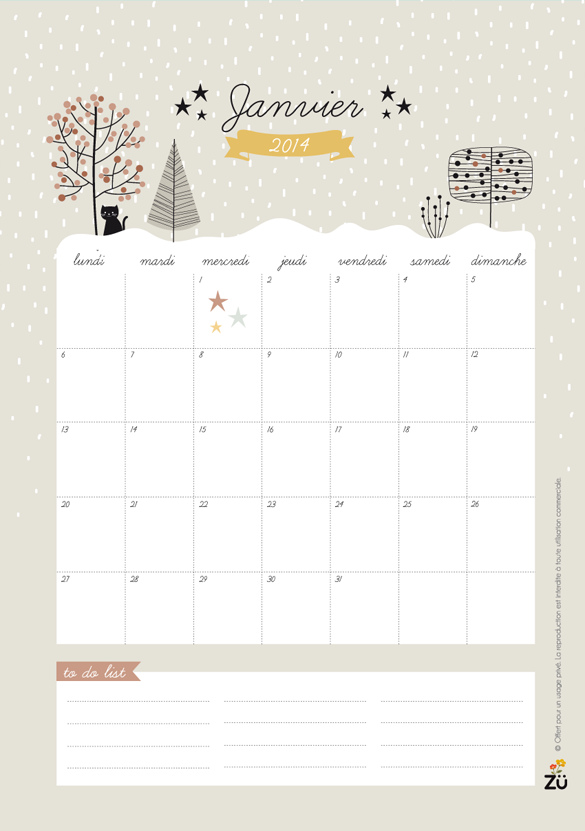 Calendar Zu : Printable calendar iamartisan