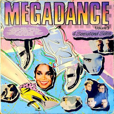 MEGADANCE - Volume.3 (non-stop dance mix) 1987 eurobeat italo disco hi-nrg 80\'s \