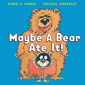 Chalk Talk blog: Lesson using Maybe a Bear Ate it!